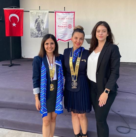 Rotaract Kulüpleri Ankara ortak toplantısına katıldık