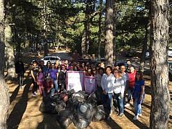 Ankara-Güdül sorgun Göleti ve piknik alanında çevre temizliği 16 Eyl 18