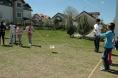 LÖSEV'de tedavi gören çocuklarla oyunlar